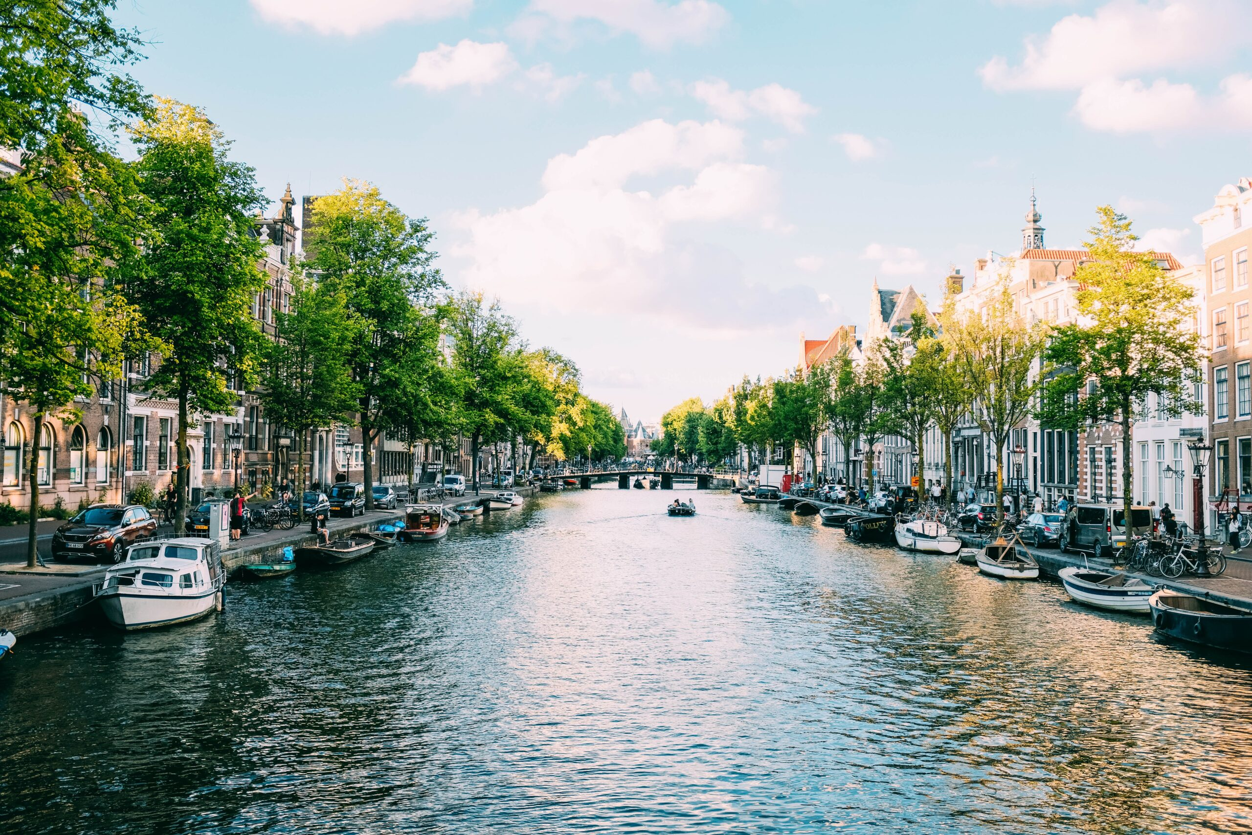 Amsterdam city canal